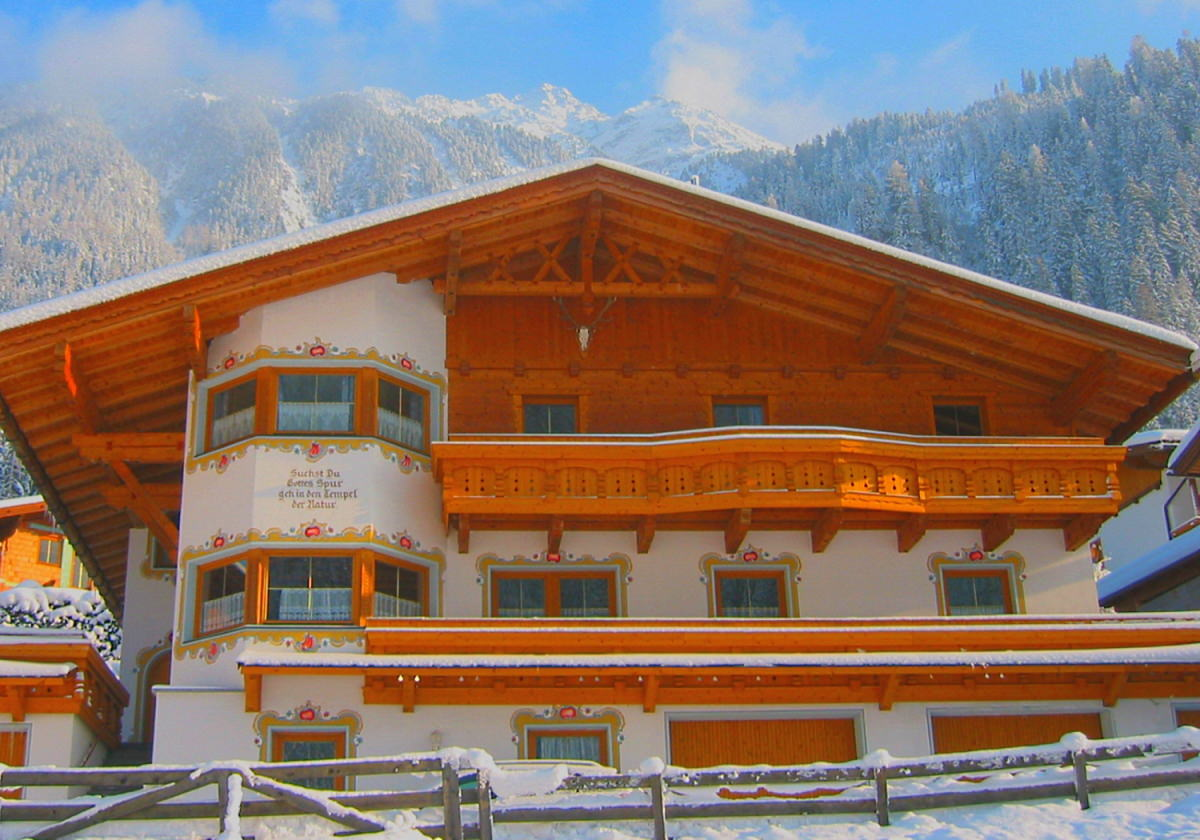 Ferienwohnungen im Haus Kerrach in Neugasteig - Winterfoto