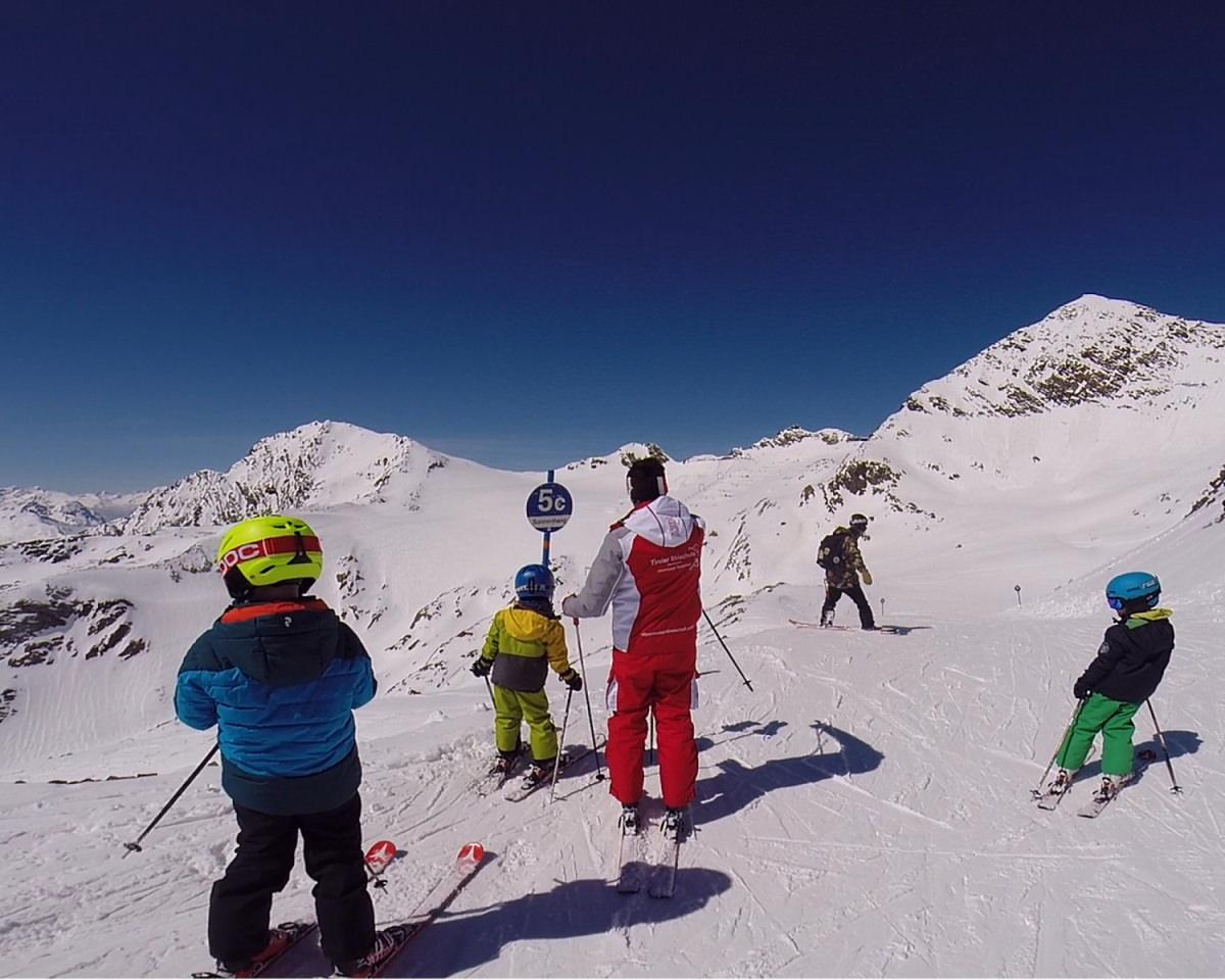 Lezioni di sci per bambini