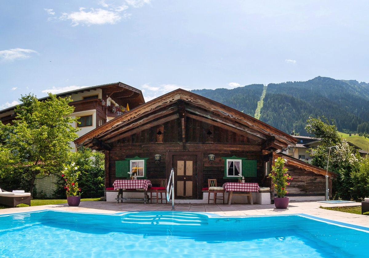 Poolhaus aus dem 17. Jahrhundert