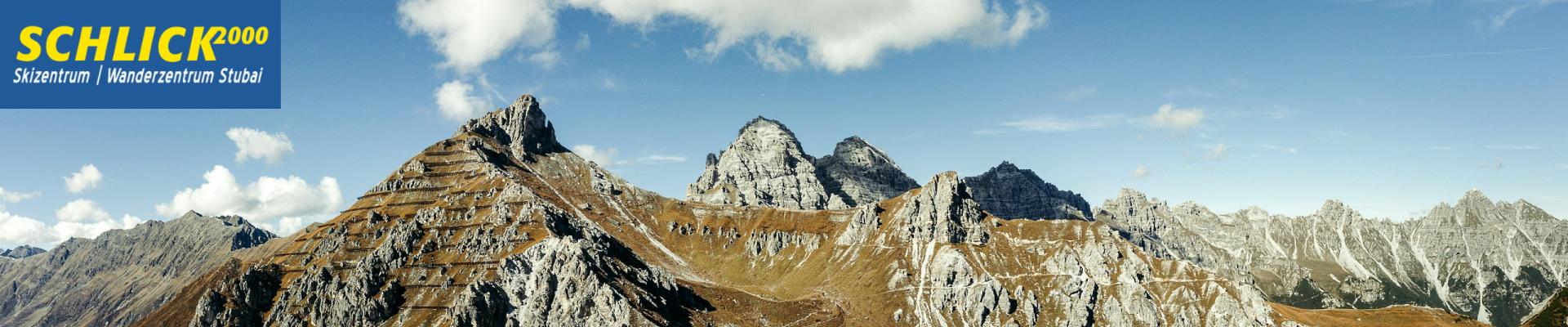 Berggipfel in der Schlick2000