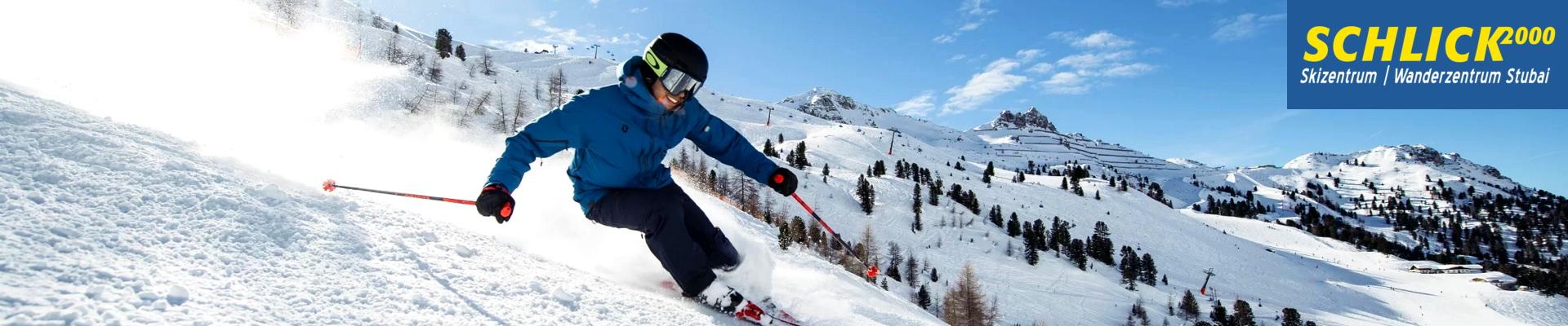 Skifahren in der Schlick2000